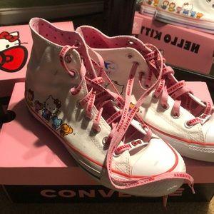 Hello Kitty high top Converse